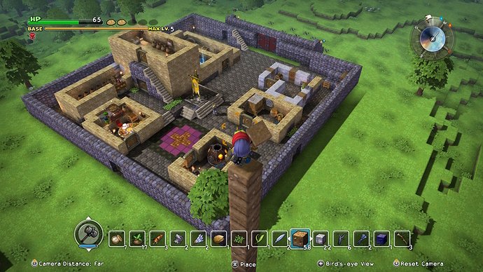 But Thou Must (share pictures from Dragon Quest Builders) (Now the