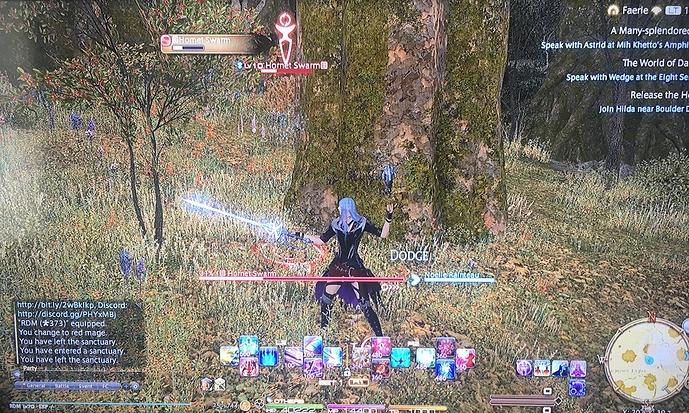 Final Fantasy XIV - King of Posters - selectbutton 2