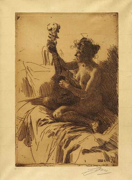 442px-Anders_Zorn_-Souvenir-The_Guitar(etching)_1895
